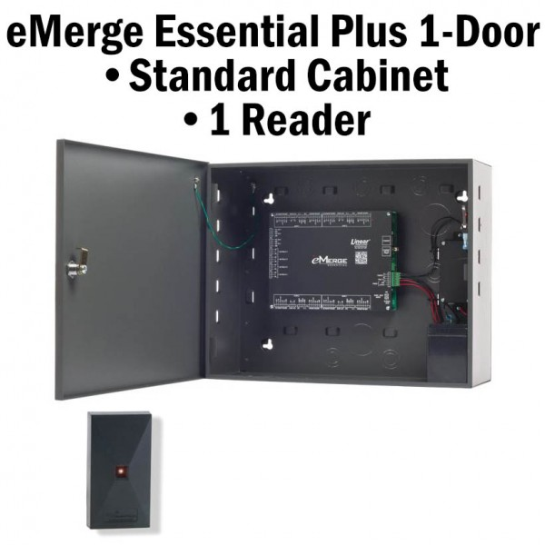 eMerge Essential Plus 1-Door with 1-Reader Bundle System