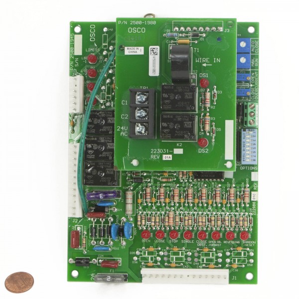 Linear / Osco 2510-295 Control Board with 3 Phase Motor Board