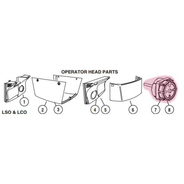 LCO Motor (Highlighted Part Only)