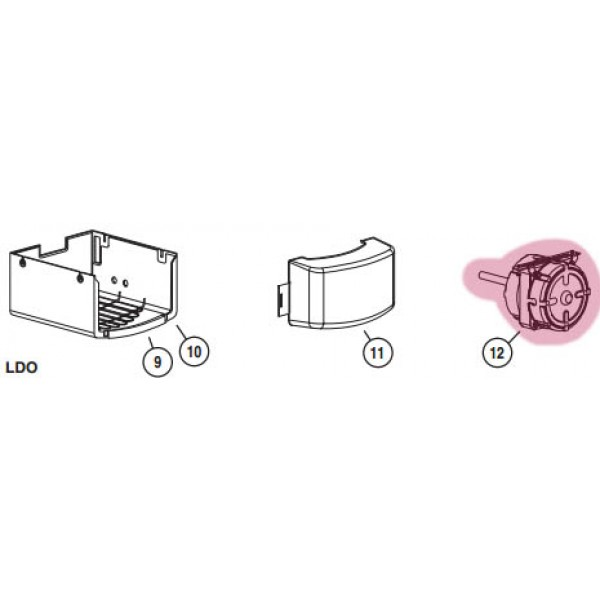 LDO Motor (Highlighted Part Only)