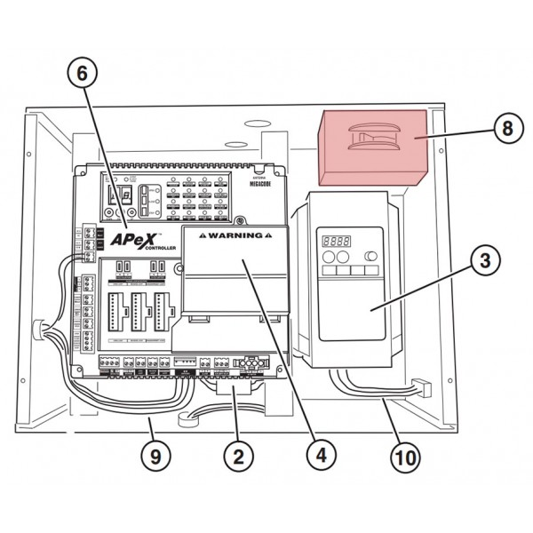 Power On/Off Switch - Linear 2500-2291