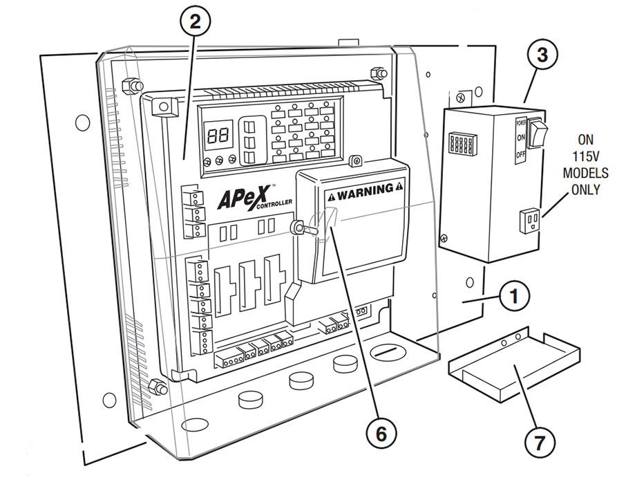 GSLG-A Single Phase Controller Parts Diagram