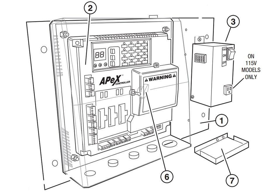 HSLG Single Phase Controller Parts Diagram