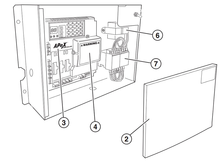 HSLG Three Phase Controller Parts Diagram