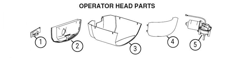 LDCO Garage Door Opener Parts Diagram
