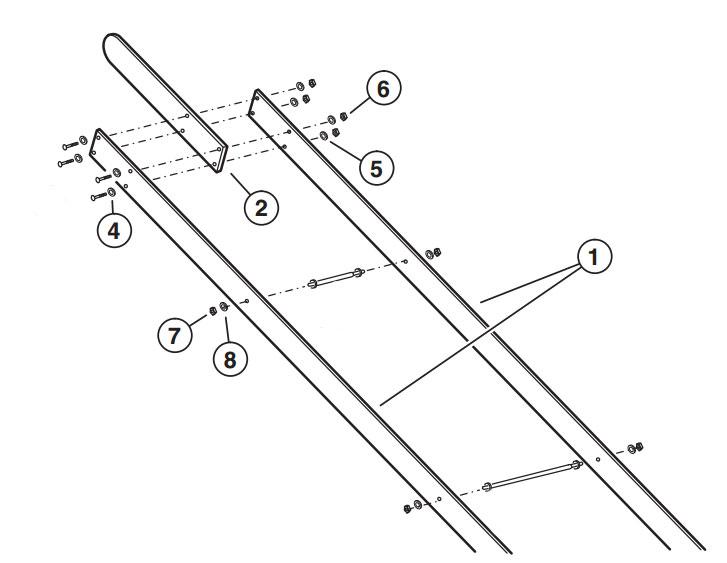 SG Operator Arm Parts Diagram
