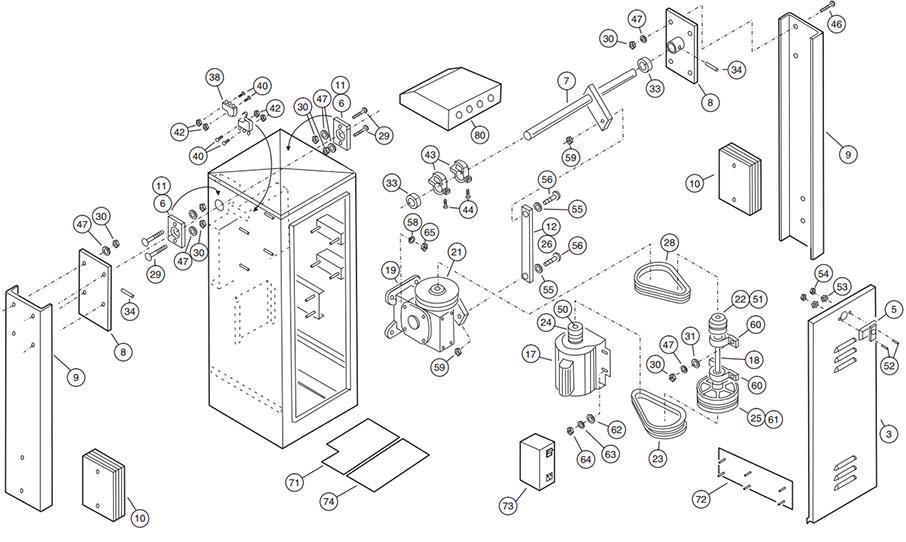 SG Operator Parts Diagram