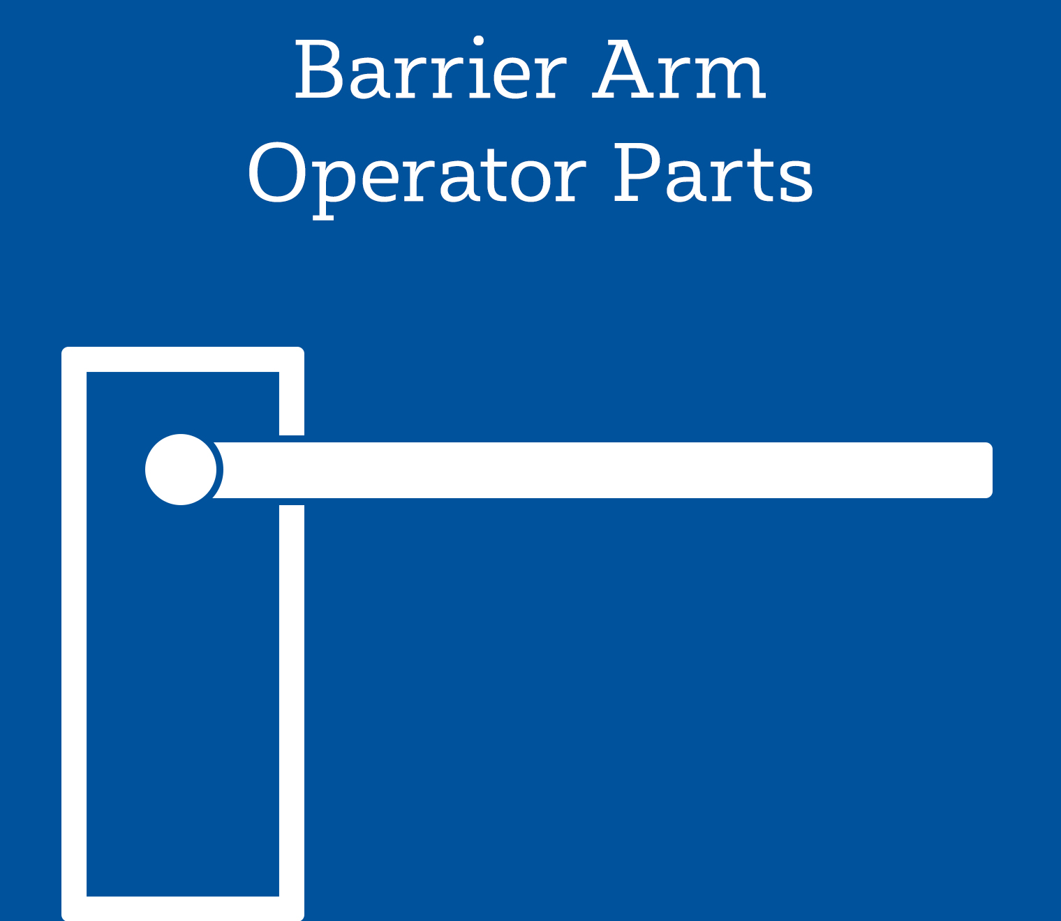 Shop Barrier Arm Operator Parts