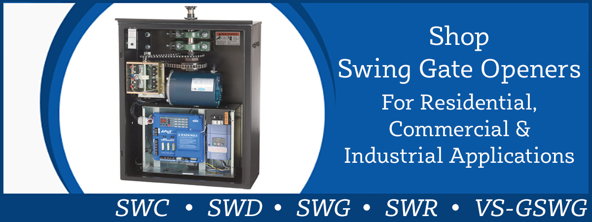 Shop Linear Swing Gate Operators Now!