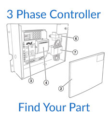Linear GSLG-A 3 Phase Controller Parts