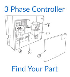 Linear HSLG 3 Phase Controller Parts