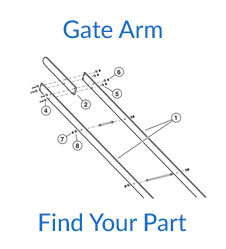 Linear SG Gate Arm Parts