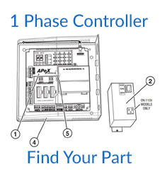 Linear SWG 1 Phase Controller Parts
