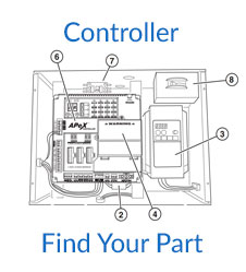 Linear VS-GSLG Controller Parts